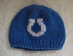 my baby will have a colts hat!  =)