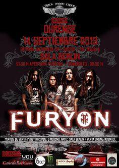 Furyon @ Sala Berlin - Ourense musica concerto concierto