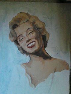 Marilyn in progress