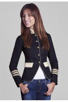military style jacket THE EXTREME COLLECTION  by www.theextremecollection.com