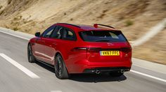 Jaguar XF Sportbrake first drive: All we adore about the XF, made more valuable # JAGUARXF #bestcar2018 #midsizesedan