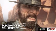 """CGI 3D Animated Short Film """"IMPASSE"""" Western Action Animation by James Hall"""
