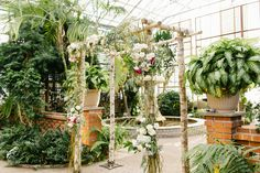 Beautiful chuppah, would like more pinks in-between the dark merlot color and the white though
