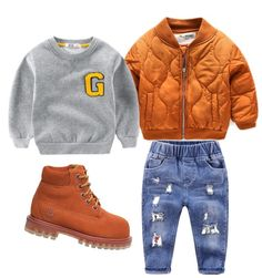 "1,145 Likes, 8 Comments - Online Children's Store (@brooklyn_lighthouse) on Instagram: ""#outfitgrid: Gowanus Jumper / Basix Bomber - Spice / footwear from @timberland /click the website…"""