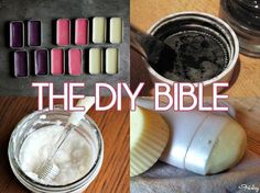 The DIY Bible: 33 Recipes For All Of Your Cosmetics, Beauty & Home Care Needs (With A Shopping List!) DIY beauty #diy