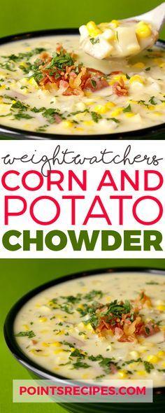 Corn and Potato Chowder (Weight Watchers SmartPoints)