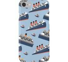 """""""Ferry Boat Scrub Cap"""" iPhone Cases & Skins by drmedusagrey 