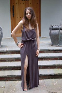 291 Venice Tank Maxi Dress with Slit