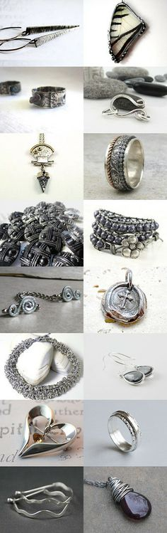 Stunning Silver JET Jewelry! #jewelryonetsy #jetteam https://www.etsy.com/treasury/MjYxNzA5NjZ8MjcyMzQ4MTE4OQ/1-jet-team
