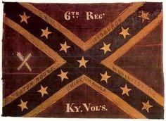 American Civil War Flags -                                                              6th Regt. KY Volunteers ~ The Orphan Brigade