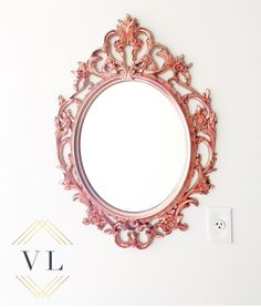 Ikea hack make your own diy copper mirror diy for Miroir ung drill