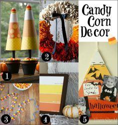 Candy Corn Decorations on HoosierHomemade.com