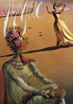 Vogue by Salvador Dalí.