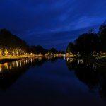 Lidköping by night