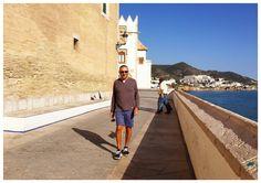 Michael at Sitges Sitges, Barcelona, Louvre, Building, Travel, Viajes, Buildings, Barcelona Spain, Destinations
