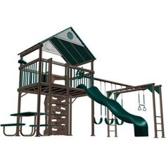 Lifetime Deluxe Commercial Grade Swing Set