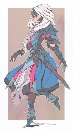 Trans warrior: Want to use this for something. Don't know what yet, but the trans color scheme and general aesthetic