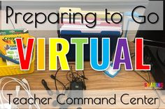 I am now preparing to go virtual with my classroom. Word came down that my school is officially go virtual for at least a few weeks.