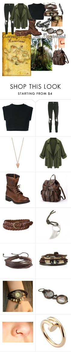 Hiding from Peter Pan by sausvilla15 on Polyvore featuring adidas Originals, WithChic, Steve Madden, Frye, InShop Watches, Zodaca, Pamela Love, Cartier, Uniqlo and Topman
