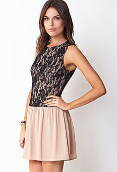 Lovely Lace Drop Waist Dress   FOREVER 21 - 2000072407 #foreverholiday