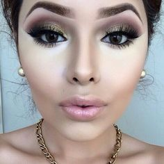 Find images and videos about beauty, makeup and make up on We Heart It - the app to get lost in what you love. Flawless Makeup, Gorgeous Makeup, Pretty Makeup, Love Makeup, Makeup Inspo, Too Much Makeup, Mascara, Eyeliner, Beauty Make-up
