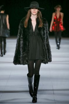 Seriously Ruined: RUNWAY: Saint Laurent Fall 2014