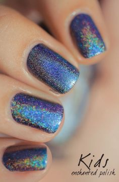 22 Pretty Party Nails Ideas For Christmas And New Year Styleoholic   Styleoholic