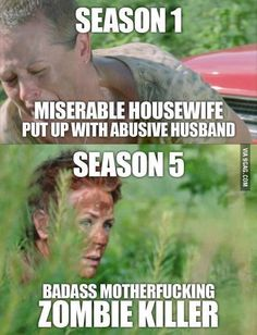And this is why I love Carol. She's changed SO much since season 1.