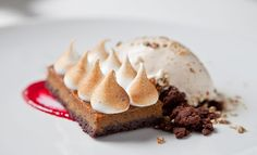 Grilled-Pumpkin Chocolate Tart Mas (la Grillade) 28 Seventh Ave. South, nr. Bedford St.; 212-255-1795 At a restaurant dedicated to all things smokey, is it any wonder that even dessert gets a double-dose of flames? Grilled pumpkin is turned into a Thanksgiving-worthy tart, and dollops of meringue are blasted with a torch. Our advice: Keep the theme going and grab a glass of Scotch to go with it.