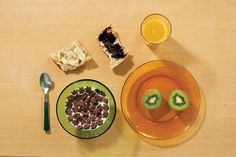 Samples of Kids' Breakfasts from Around The World