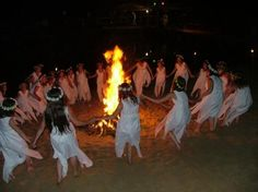 Noc Kupały (Sobótka), the Slavic holiday associated with the summer solstice (the night from 21 to 22 June)