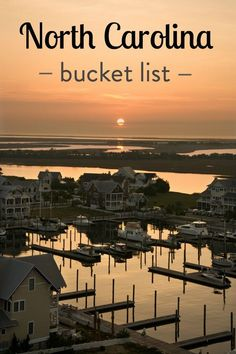 What are the best places to visit in North Carolina? Help us create our NC bucket list with things to do, places to visit, must see attractions, best restaurants and food, and all the best travel tips.