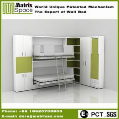 Check out this product on Alibaba.com APP Shenzhen Matrix Furniture Used Bunk Wall Beds For Kids