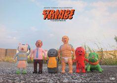 Dehara Yukinorio【Strange Friends】2016 Taiwan Solo Exhibition 展覽資訊   玩具人Toy People News