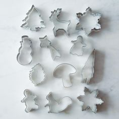 Want: Beautiful stainless steel Christmas cookie cutters. These are expensive, but so nice compared to many other sets I've seen.