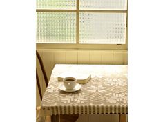 crochet lace table cloth
