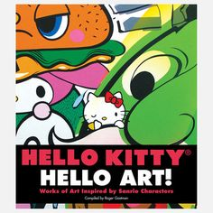 Hello Kitty, Hello Art!, by Sanrio and Roger Gastman  the red ribbon, of course ... !