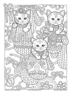 Mittens : Creative Kittens Coloring Book by Marjorie Sarnat:
