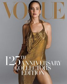 "107.2k Likes, 374 Comments - Vogue (@voguemagazine) on Instagram: ""To celebrate #Vogue125, @inezandvinoodh photographed #JenniferLawrence for one of her four…"""