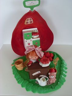 Strawberry Shortcake Berry Bake Shoppe. I saved this one for Madeline. She loved it as much as I did.