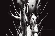 Alternative movie poster for Akira by Carlos Angeli