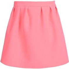 Maison Kitsuné Mini Skirt (6.985 RUB) ❤ liked on Polyvore