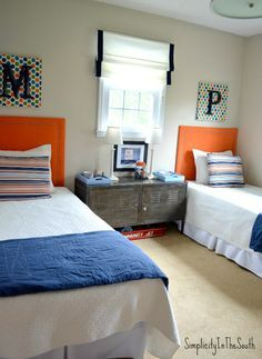 10 Shared Boys Bedroom Ideas to inspire your creativity. Create a functional shared space.