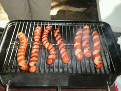 a new way to grill hot dogs
