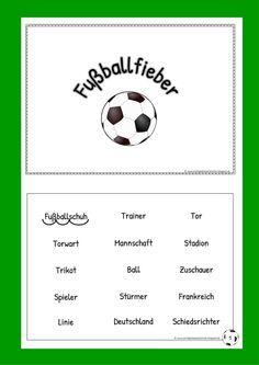 Fußballfieber Heftchen Klasse 1