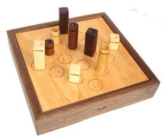 Quarto! board game - this would be a great game for Dad to build - and drive Mom crazy trying to play - CJ