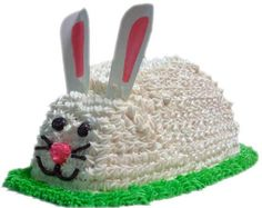 Another bunny shaped cake