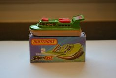 Matchbox Superfast 75 No 2 Rescue Hovercraft Made in 1978 With box