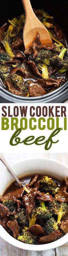 Slow Cooker Broccoli Beef & other amazing crockpot recipes!
