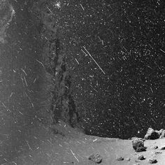 Astronomy daily picture for April 27: The Snows of Churyumov-Gerasimenko